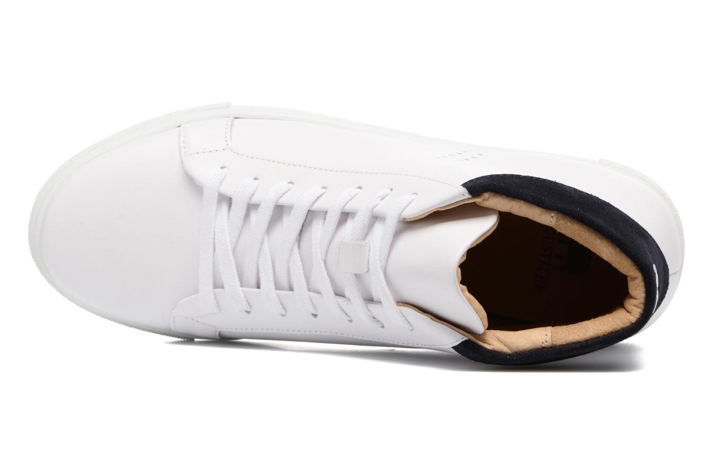 Sneakers M. Moustache Richard Wit links