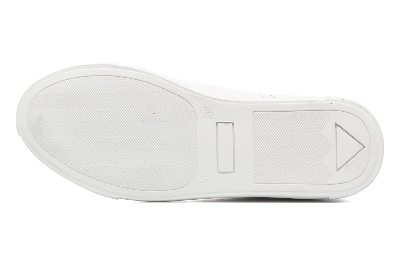 Sneakers M. Moustache Richard Wit boven