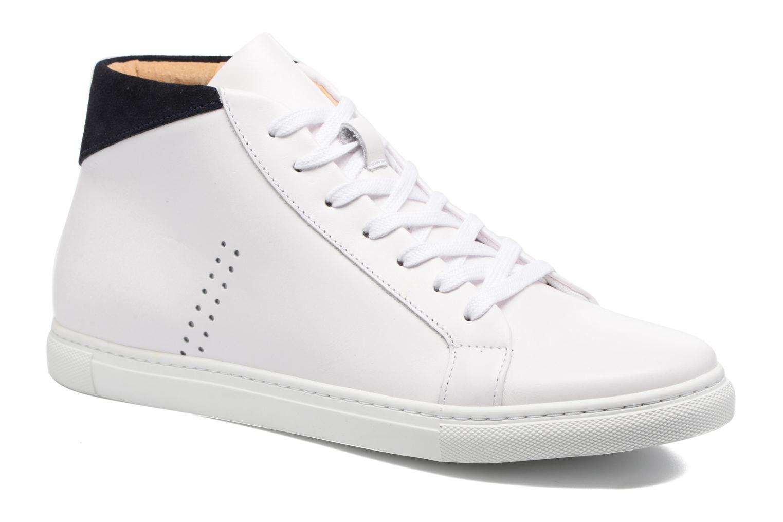 Sneakers M. Moustache Richard Wit detail