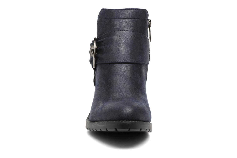 Bottines et boots Les P'tites Bombes Diane Bleu vue portées chaussures