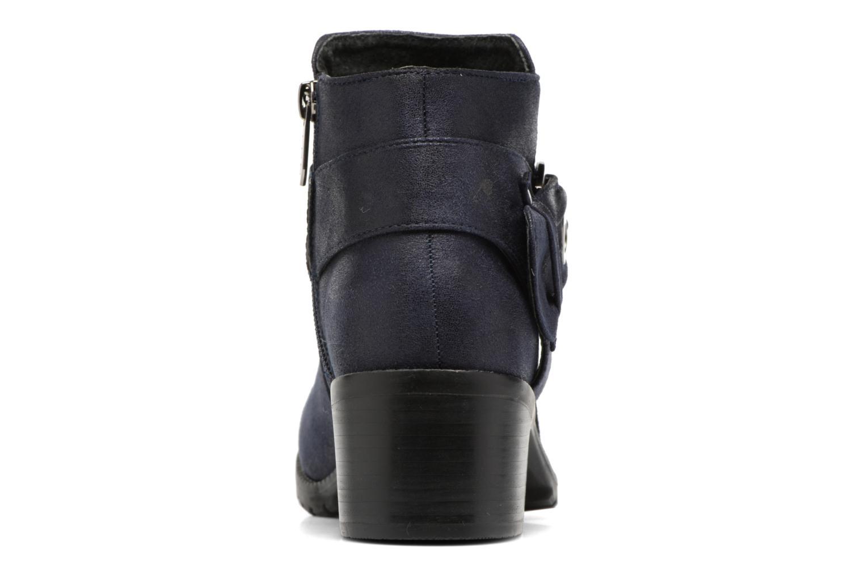 Bottines et boots Les P'tites Bombes Diane Bleu vue droite