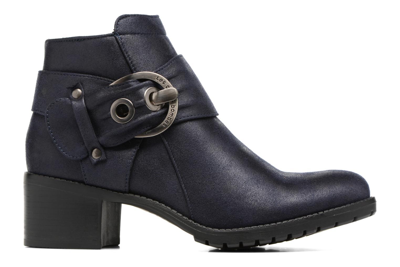 Bottines et boots Les P'tites Bombes Diane Bleu vue derrière