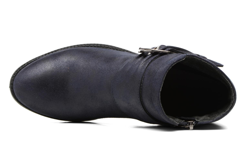 Bottines et boots Les P'tites Bombes Diane Bleu vue gauche