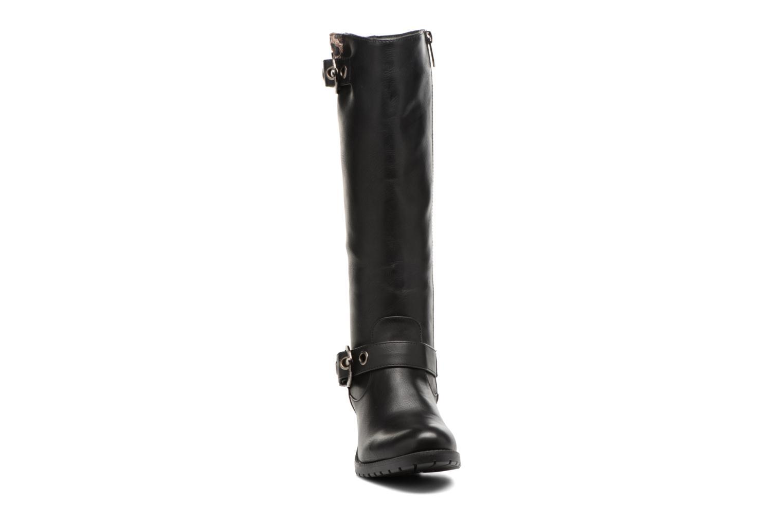 Bottes Les P'tites Bombes Gaelle Noir vue portées chaussures