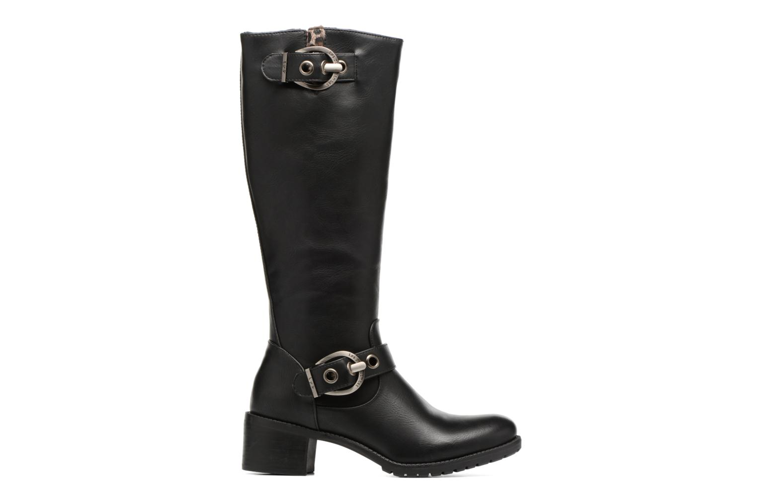 Boots & wellies Les P'tites Bombes Gaelle Black back view