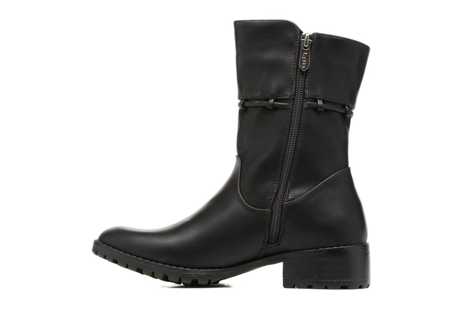 Boots & wellies Les P'tites Bombes Gladys Black front view