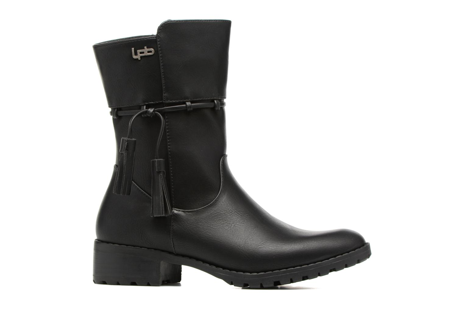 Boots & wellies Les P'tites Bombes Gladys Black back view
