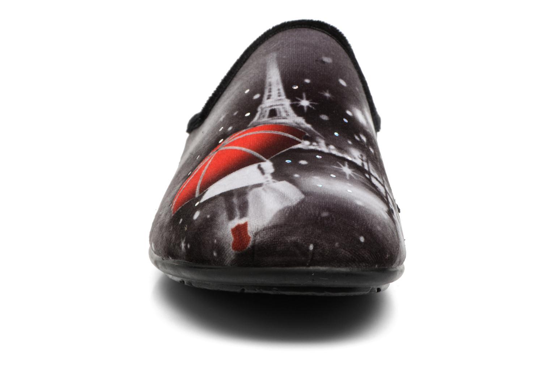 Chaussons La maison de l'espadrille Anna 2 Noir vue portées chaussures