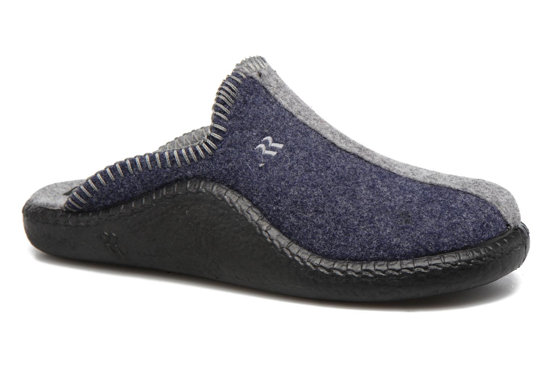 Chaussons Romika Mokasso 62 Bleu vue détail/paire