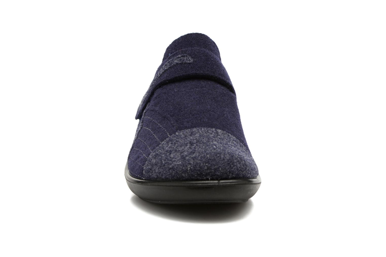 Chaussons Romika Ibiza Home 306 Bleu vue portées chaussures