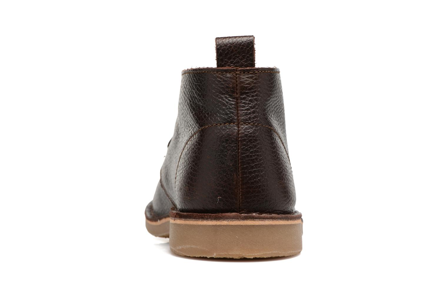 Chaussures à lacets Selected Homme Chukka texas boot Marron vue droite