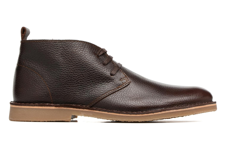 Chaussures à lacets Selected Homme Chukka texas boot Marron vue derrière