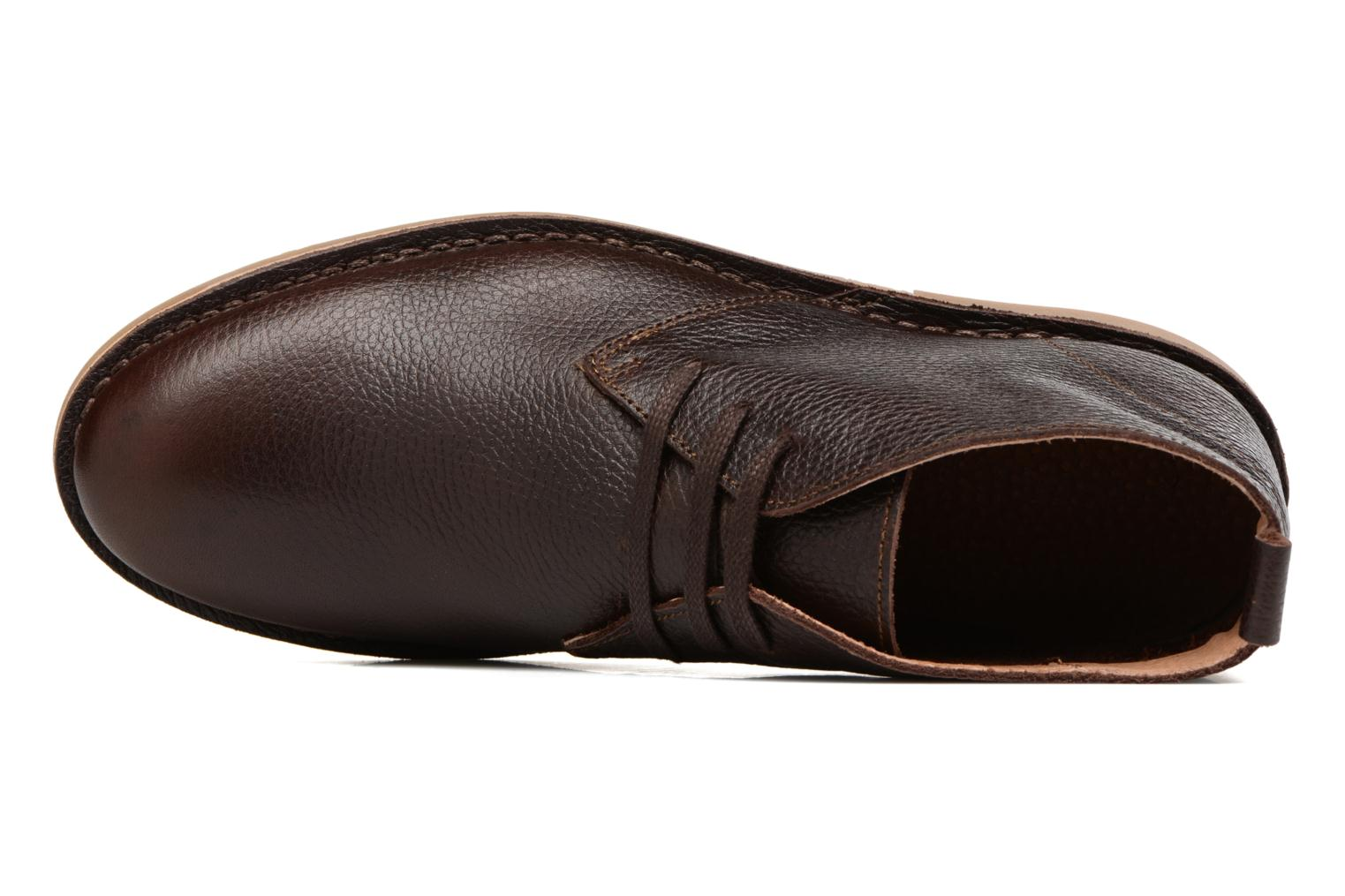 Chaussures à lacets Selected Homme Chukka texas boot Marron vue gauche