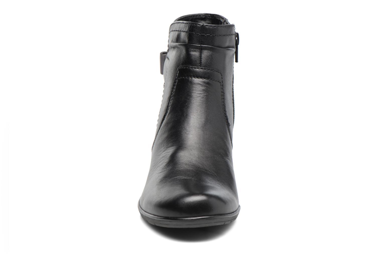 Bottines et boots Jana shoes Suzy Noir vue portées chaussures