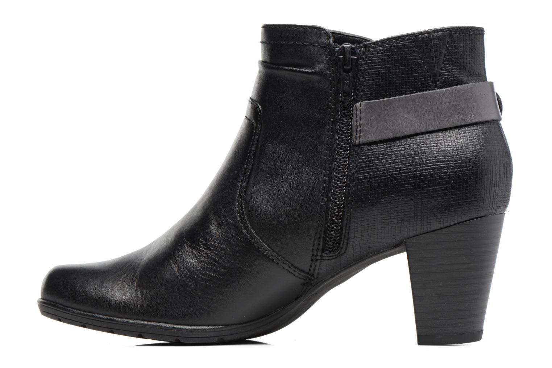 Bottines et boots Jana shoes Suzy Noir vue face