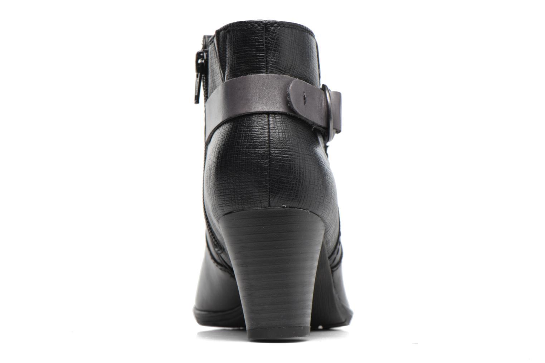 Bottines et boots Jana shoes Suzy Noir vue droite