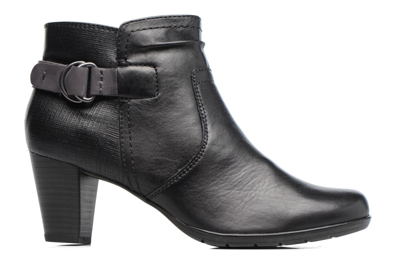 Bottines et boots Jana shoes Suzy Noir vue derrière