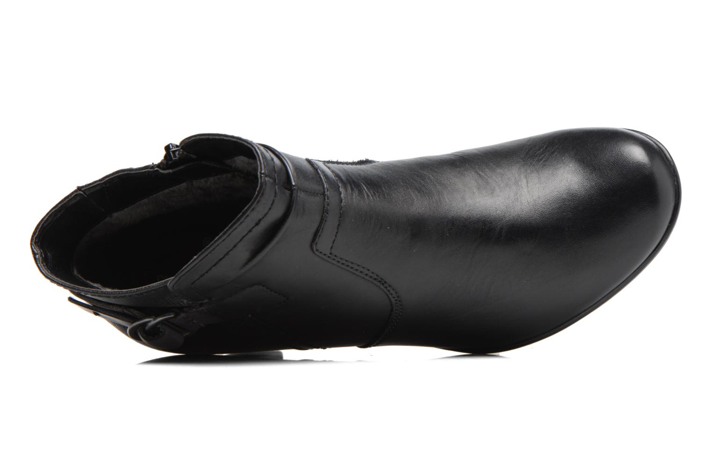 Bottines et boots Jana shoes Suzy Noir vue gauche