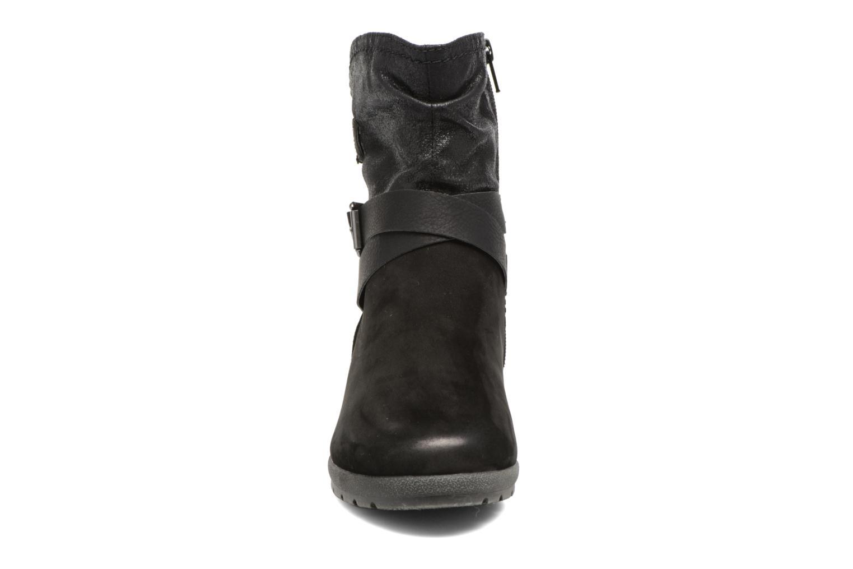 Bottines et boots Jana shoes Ashley Noir vue portées chaussures