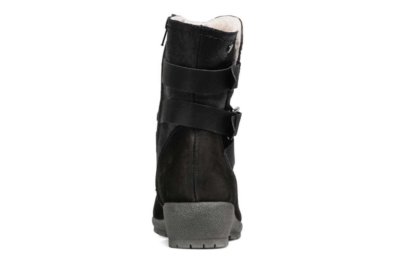 Bottines et boots Jana shoes Ashley Noir vue droite