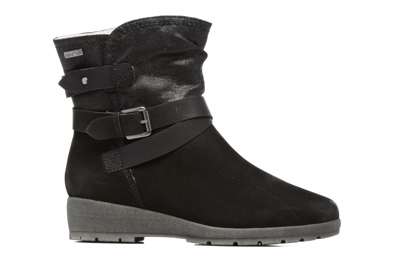 Bottines et boots Jana shoes Ashley Noir vue derrière