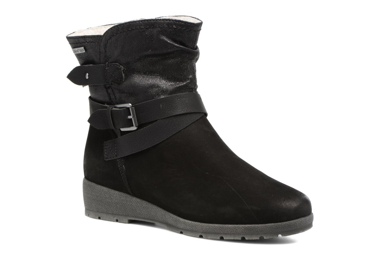 Botines  Jana shoes Ashley Negro vista de detalle / par