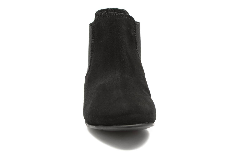 Bottines et boots Les Tropéziennes par M Belarbi Paradizo Noir vue portées chaussures