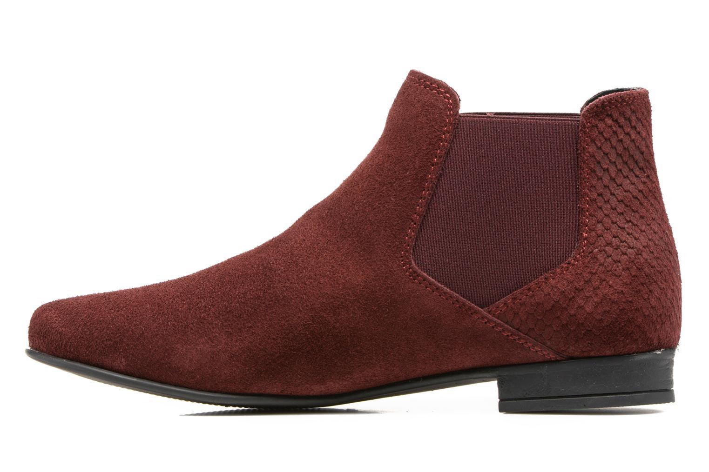 Bottines et boots Les Tropéziennes par M Belarbi Paradizo Rouge vue face