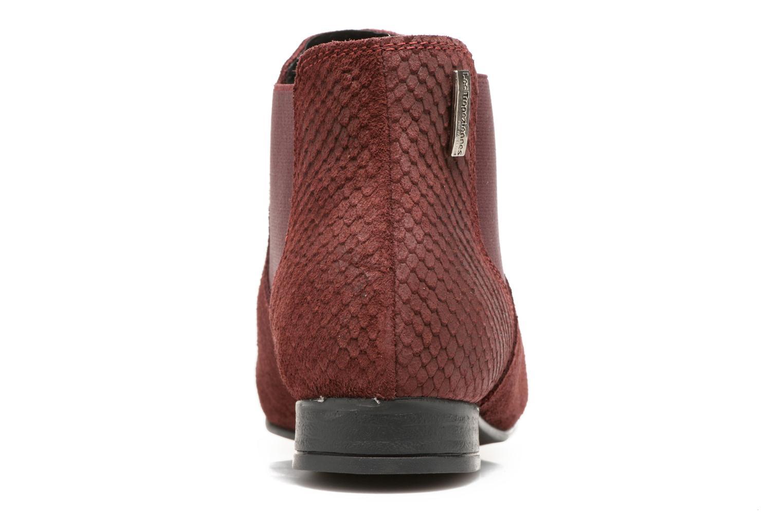 Bottines et boots Les Tropéziennes par M Belarbi Paradizo Rouge vue droite