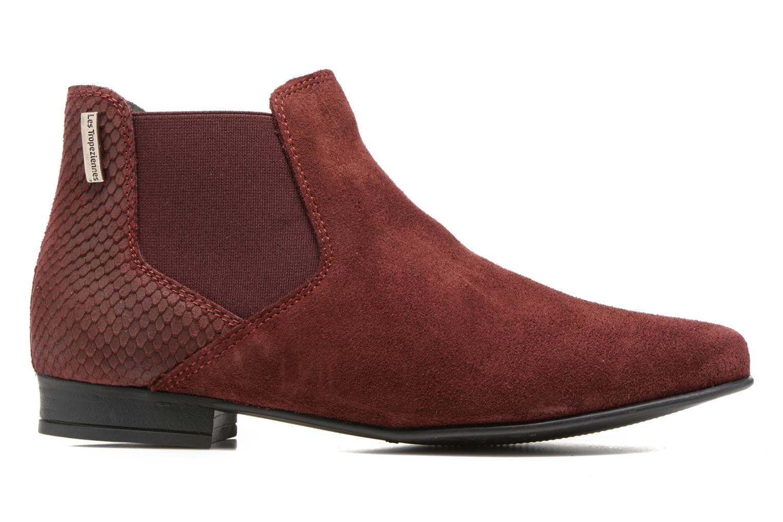 Bottines et boots Les Tropéziennes par M Belarbi Paradizo Rouge vue derrière