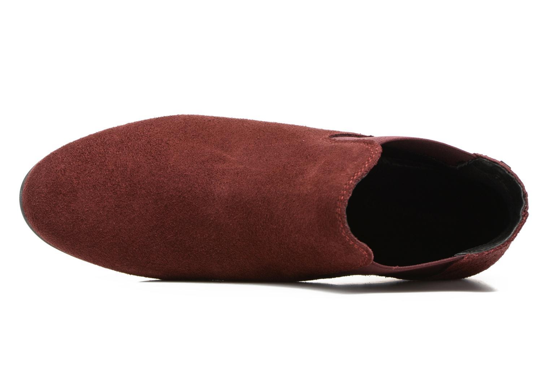 Bottines et boots Les Tropéziennes par M Belarbi Paradizo Rouge vue gauche