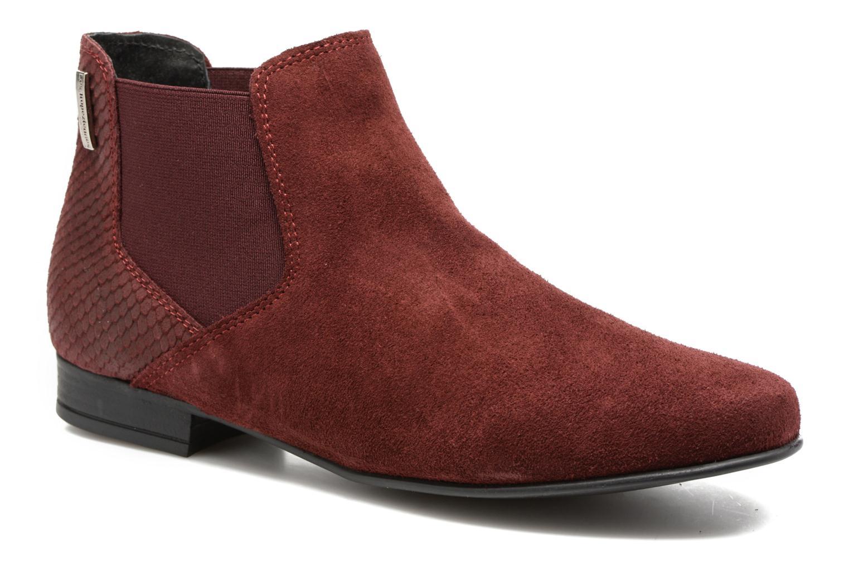 Bottines et boots Les Tropéziennes par M Belarbi Paradizo Rouge vue détail/paire