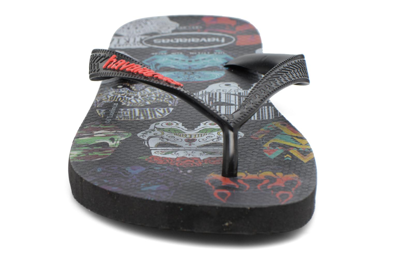 Tongs Havaianas HAV. STAR WARS Noir vue portées chaussures