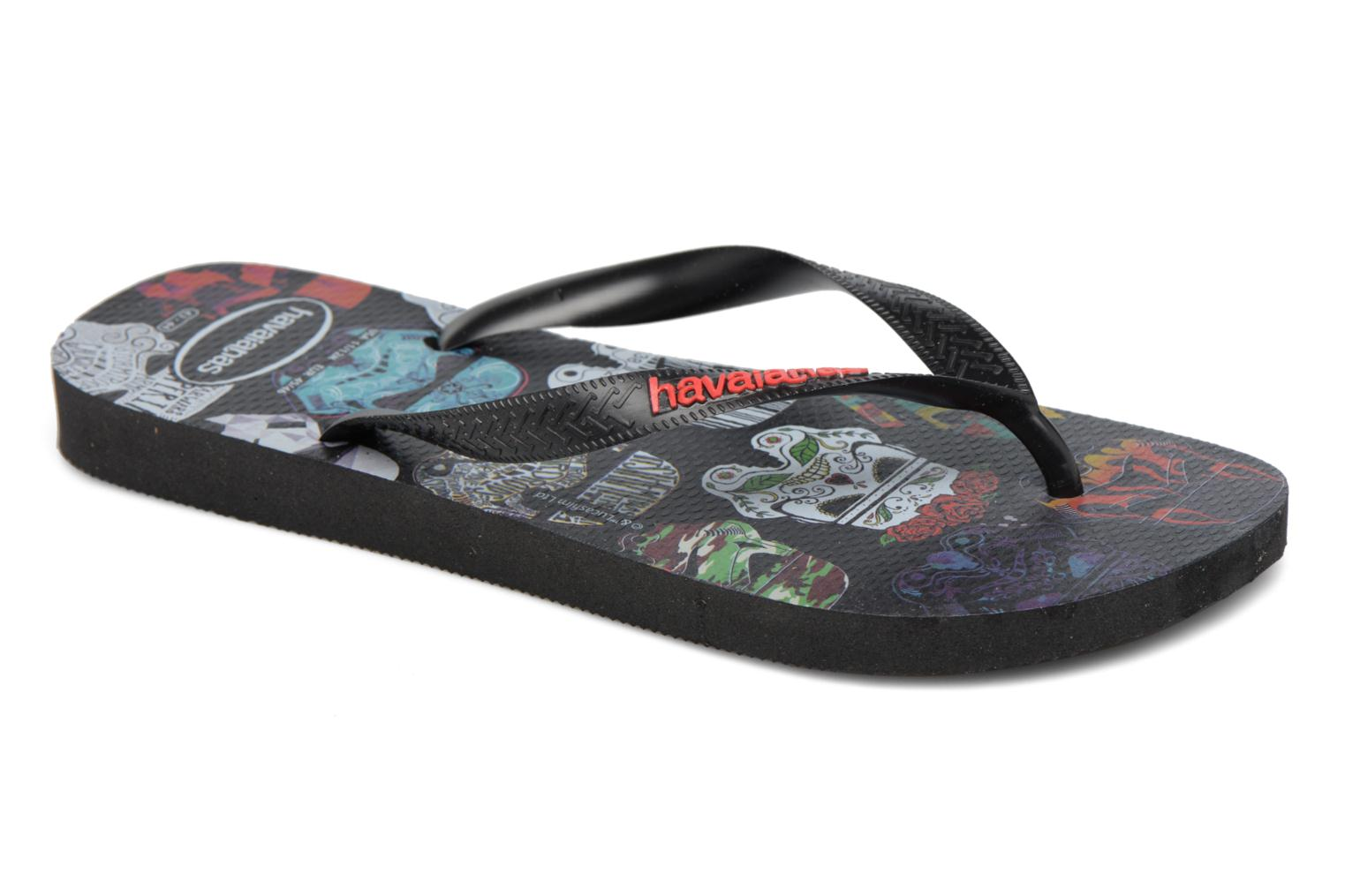 HAV. STAR WARS Black/Black/Red