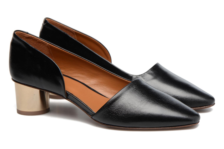 Zapatos de tacón By Far Karla Negro vista 3/4