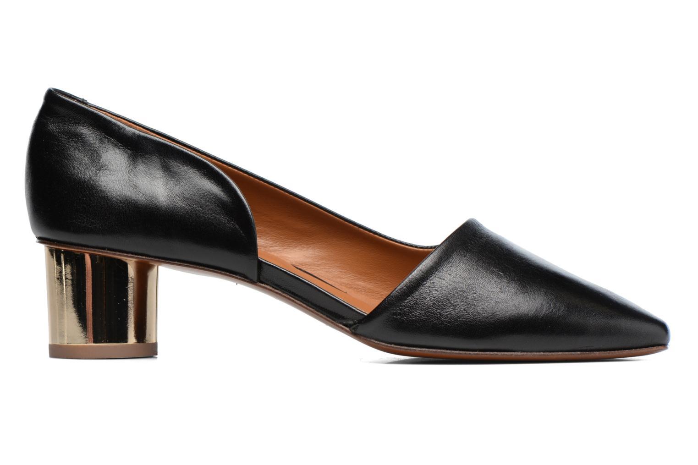 Zapatos de tacón By Far Karla Negro vistra trasera