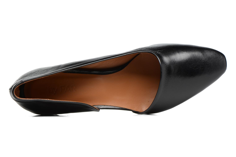 Zapatos de tacón By Far Karla Negro vista lateral izquierda