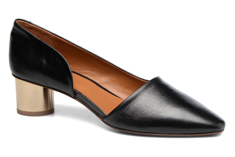 Zapatos de tacón By Far Karla Negro vista de detalle / par
