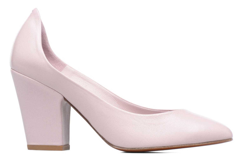 High heels By Far Niki Pump Purple back view