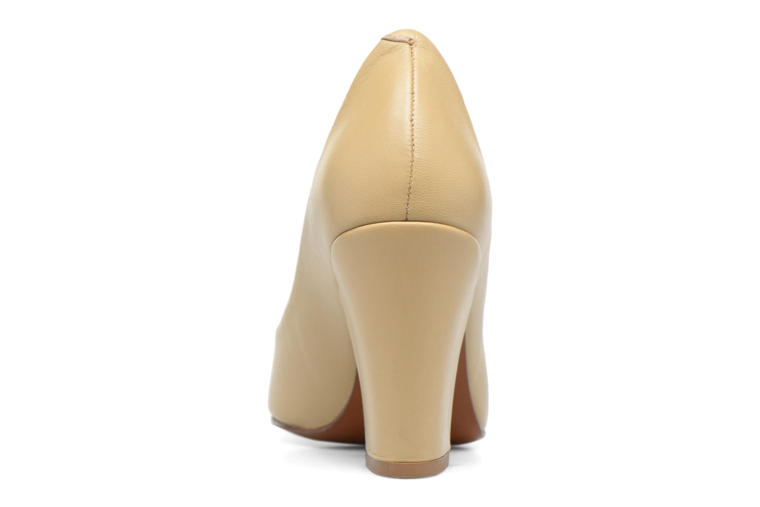 Escarpins By Far Niki Pump Beige vue droite