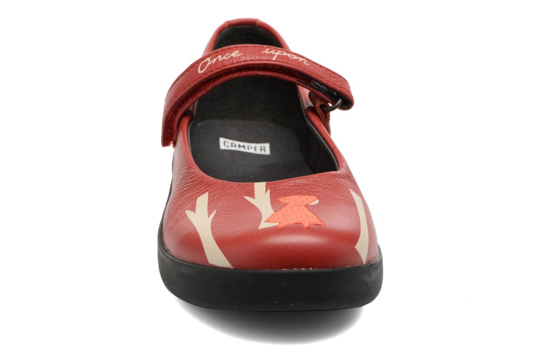 Ballerines Camper TWS 5 Rouge vue portées chaussures