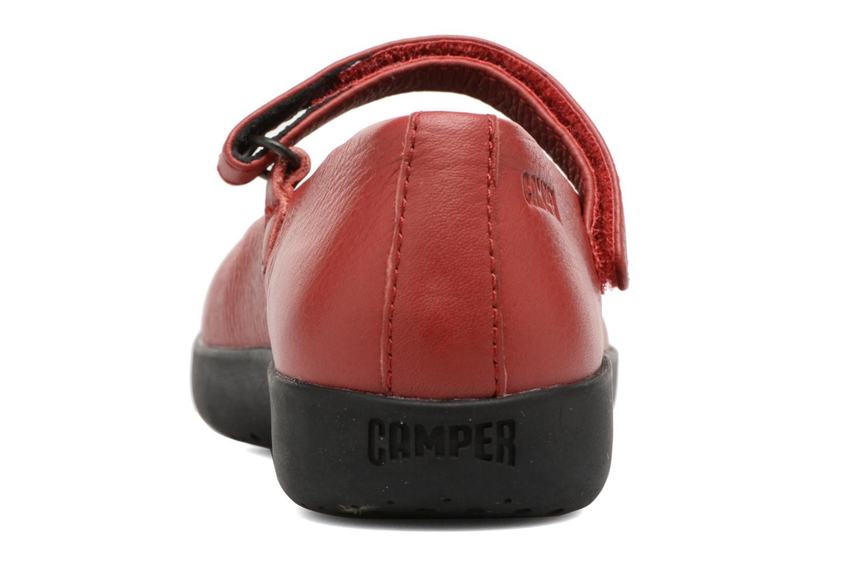 Ballerines Camper TWS 5 Rouge vue droite