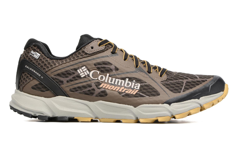 Chaussures de sport Columbia Caldorado II Outdry Marron vue derrière