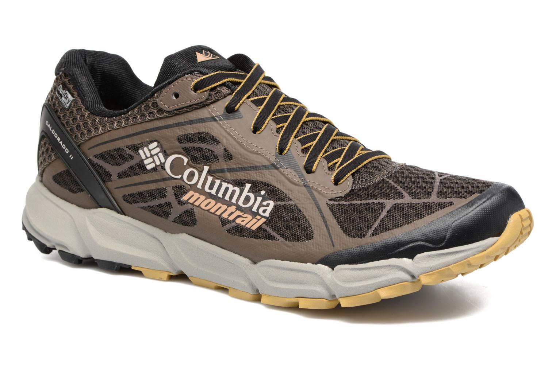 Chaussures de sport Columbia Caldorado II Outdry Marron vue détail/paire