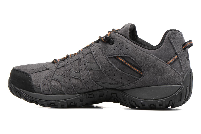 Chaussures de sport Columbia Redmond Leather Omni-Tech Gris vue face