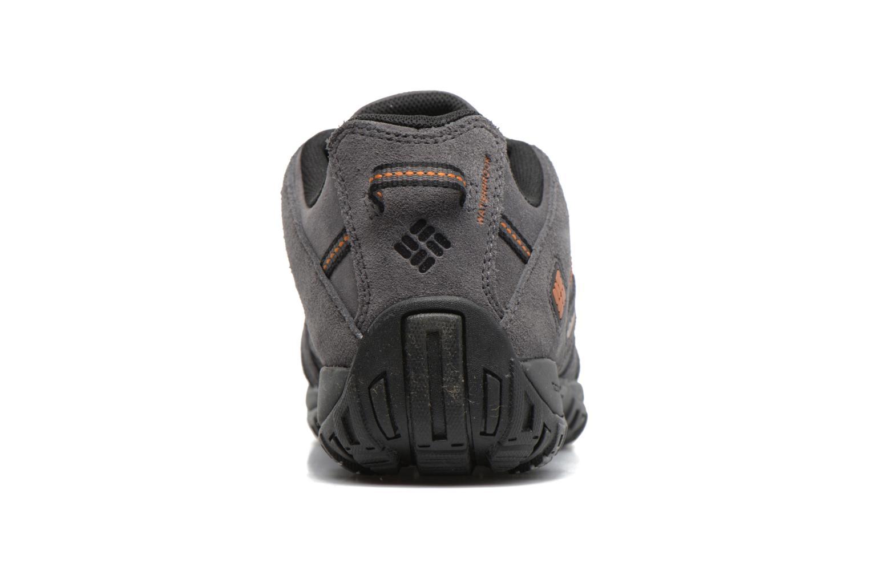Chaussures de sport Columbia Redmond Leather Omni-Tech Gris vue droite