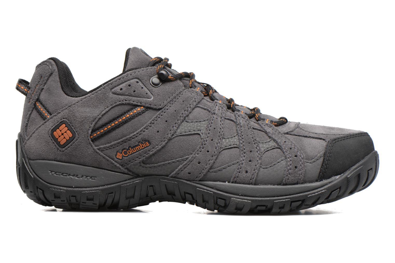 Chaussures de sport Columbia Redmond Leather Omni-Tech Gris vue derrière
