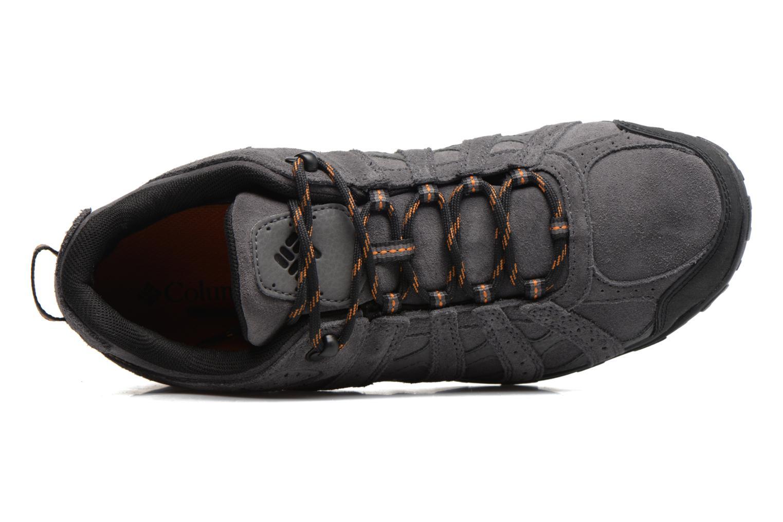 Chaussures de sport Columbia Redmond Leather Omni-Tech Gris vue gauche