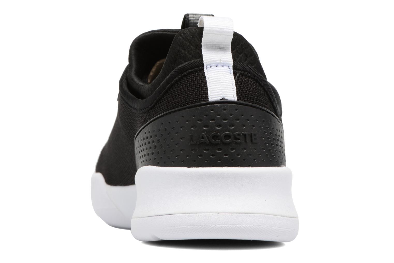 Baskets Lacoste LT SPIRIT 2.0 317 1 Noir vue droite