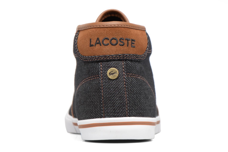 Baskets Lacoste AMPTHILL 317 1 H Noir vue droite